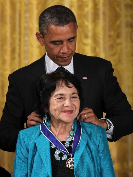 Dolores-Huerta-President-Obama-Awards-Presidential--xESK2UW