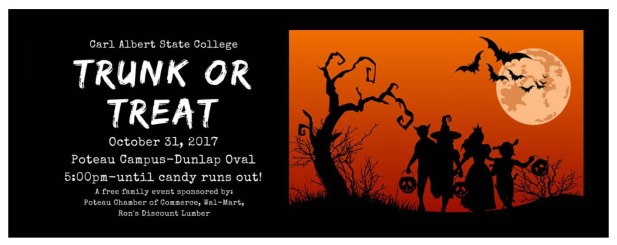 Carl Albert State Halloween